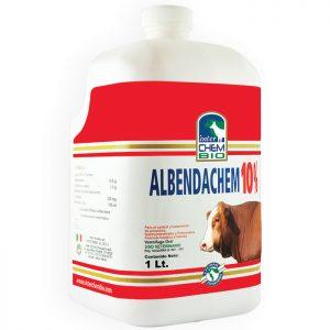 Albendachem 10, tratamiento y prevención de parasitosis en ganado bovino
