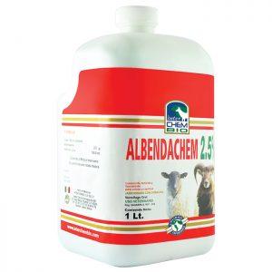 Albendachem 2.5, tratamiento y prevención de parasitosis en ganado ovino y caprino