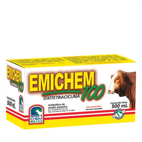 Emichem 100, oxitetraciclina