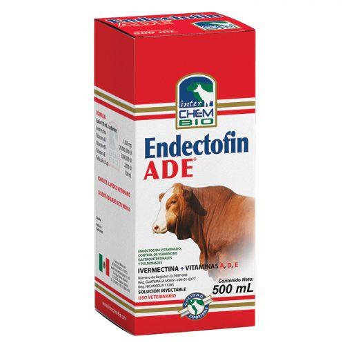 Endectofin ADE, tratamiento y control de endoparásitos gastrointestinales y pulmonares