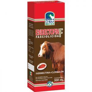 Endectofin Fasciolicida F, control de ácaros y piojos, en ganado bovino