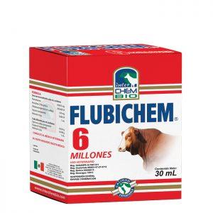 Flubichem, control de infecciones sensibles a la combinación antibiótica y anti-inflamatorio