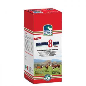 Inmunobac 8 vias, prevención del Carbón sintomático, Edema maligno, Hepatitis necrótica infecciosa, Enterotoxemia y Pasteurelosis neumónica
