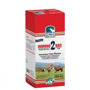 Inmunobac 2 Doble Bovina, inmunización de ganado bovino, ovino y caprino contra Carbón sintomático y Pasteurelosis neumónica