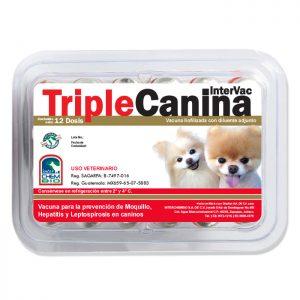 Triple Intervac Canina, Vacuna para perros cachorros