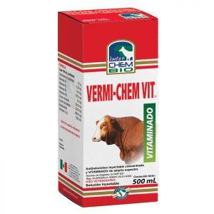 Vermi-chem Vit, Útil contra endoparásitos gastrointestinales y pulmonares para ganado