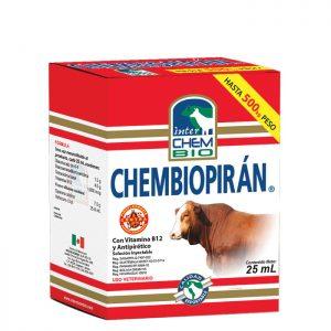 Chembiopiran, control y tratamiento de infecciones de ganado animal