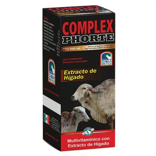 Complex Phorte, complejo B para ganado Animal